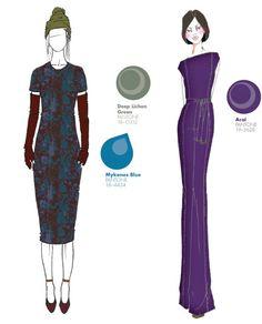 fall winter 2013 2014 new york fashion week color report, pantone, LM.Patmos by Marcia Patmos, Trina Turk