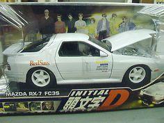 Initial D Mazda RX-7 FC3s 1:24 Scale Die Cast Jada Toys