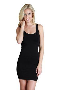 Womens Seamless Wide Strap Dress