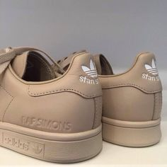 shoes adidas sexy sportswear cute love raf simons raf simons adidas monochrome sneakers gold perfect shoes unicolor stan smith beige