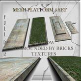 Mesh Build Platform 4 set Full perm