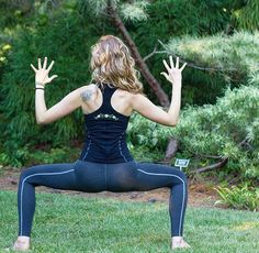 Instagram Yoga Girl @hollapop in the Alpine Retreat Yoga Tank and Pant!