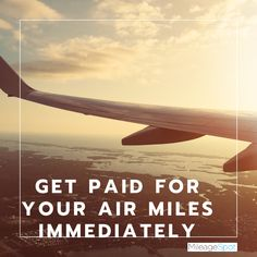 Sell Airline Miles For Cash Credit Card Points, Air Tickets, Airplane View, Airline Tickets