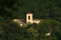 The abbey of St. Croce in Sassoferrato (11th Century) - Sassoferrato - Marche - Italy