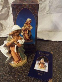 """Fontanini Nativity Mary 7.5"""", Heirloom collection,NEW!, Nativity # 72812"""