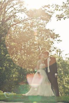 sunburst. wedding photography