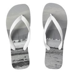 Yachts Flip Flops - fathers day best dad diy gift idea cyo personalize father family