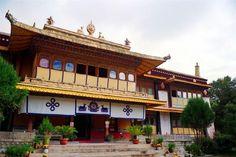 Norbulingka. Lhasa, Tibet.