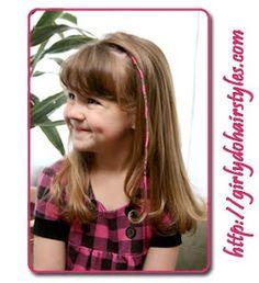 Hair wrapping for Braya