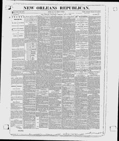 New Orleans Republican - Google News Archive Search