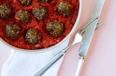 Albondigas – kødboller i tomatsauce