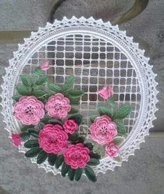 (notitle) Best Picture For Crochet dolls For Your Taste You are looking for something, and it is going to tell you exactly what you are. Simple Hand Embroidery Patterns, Crochet Doily Patterns, Crochet Motif, Crochet Designs, Crochet Doilies, Crochet Flowers, Flower Patterns, Crochet Wall Art, Crochet Wall Hangings