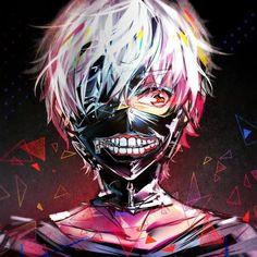 Halloween Anime Dress Cosplay Tokyo Ghoul Kaneki Ken Mask Zipper Hollow Realistic Scary Latex Full Face Mask