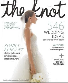 Wedding Magazine The Knot Weddings May Spring Bridal