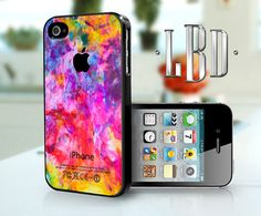 iPhone 4 4s Case  Color Splashes Cover iP4 by LBCustomDesignsLLC, $14.95