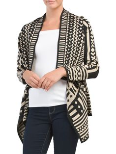 649484eece93 Intrasia Cardigan Sweater - Cardigans   Dusters - T.J.Maxx