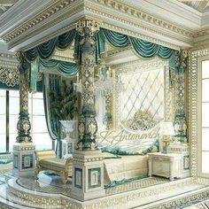 Luxury Bedroom Design, Master Bedroom Design, Luxury Interior, Interior Design, Room Interior, Palace Interior, Bedroom Designs, Luxury Master Bedroom, Interior Ideas