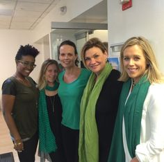 #MEC Pride Day - All the NY office wearing our #green #DJLT #thrive