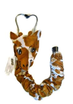 Stethoscope Cover, Giraffe Pattern - Unique Christmas or Graduation Gift for Medical Professional Working with Children #animal-stethoscope #giraffe-stethoscope #Kids-stethoscope