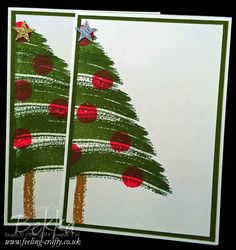 Find Out About Friday - A Quick and Easy Christmas Card Video and News About the Seasonal Catalogue - Feeling Crafty