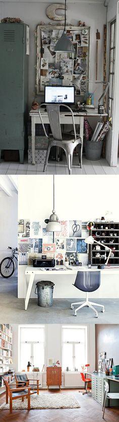 some art studios/work spaces