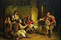 Macavanje  Paja Jovanovic (1859-1957)/ my favorite Serbian artist.. .