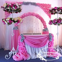 Источник интернет Ceremony Decorations, Birthday Decorations, Cradle Decoration, Naming Ceremony Decoration, Cradle Ceremony, Wedding Stage, Sweetheart Table, Backdrops For Parties, Deco Table