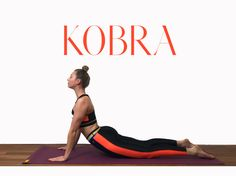 Yogauebung Kobra Fitness Workouts, Sport Fitness, Yoga Fitness, Fitness Motivation, Health Fitness, Kino Yoga, Power Yoga, Yoga Meditation, Pilates