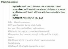 Harry Potter - the tags are the best bit