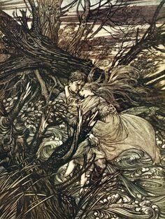 undine - Arthur Rackham