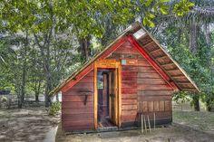 My cabin at the Awarradam jungle lodge