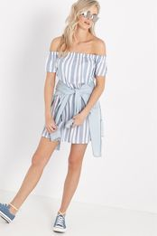 nina off the shoulder dress