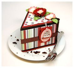 I LOVE this blog, this designer, and her designs! I especially love this uber-cute cake box! So fun and so festive for any birthday!