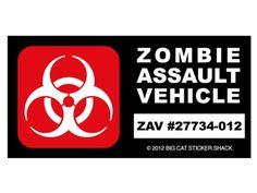 Zombie Assault Vehicle