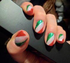 unghie tricolore