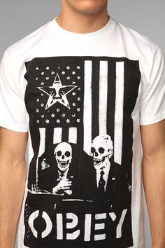 Even though this is mens, I want it. OBEY DK Tee  #UrbanOutfitters