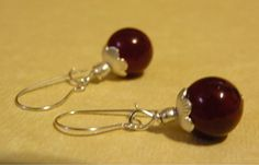 Blush      Ruby Red Quartzite Sterling by ScorpionMoonDesigns, $32.00