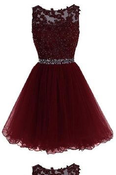 Maroon Tulle Lace and Beaded Homecoming Dress, Lovely Blue Formal Dress 2019 - Ellise M. Maroon Tulle Lace and Beaded Homecoming Dress, Lovely Blue Formal Dress 2019 - Dama Dresses, Cute Prom Dresses, Dresses For Teens, Pretty Dresses, Sexy Dresses, Dress Prom, Dress Formal, Prom Gowns, Winter Formal Dresses