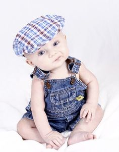 Idea for 5 month old little boy photo session