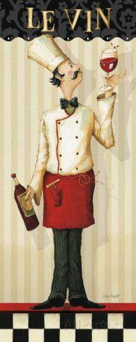Chef-koks meesterwerk I Posters van Lisa Audit - bij AllPosters.be