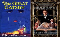Movie Tie-in Cover The Great Gatsby F Scott Fitzgerald The Great Gatsby Movie, Great Movies, Great Books, Gatsby Book, Movie Covers, Book Covers, Movie Makeup, F Scott Fitzgerald, The Book