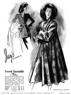 1948 Fashion Illustration.