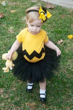 Charlie Brown shirt inspired girls birthday party outfit, The Charlotte bodysuit…