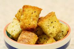 Homemade Croutons.
