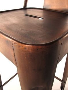 Copper Barstool eclectic bar stools and counter stools