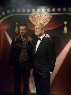 Henk-Jan en Joop van den Ende in Madame Tussauds Amsterdam