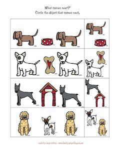 Preschool Printables: Dogs