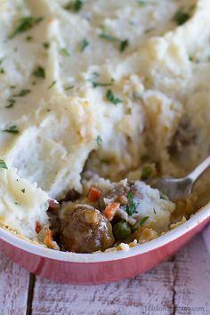 Meatball Cottage Pie Recipe