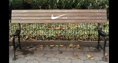 A Nike bench that allows no rest!