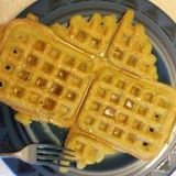 AIP Plantain Waffles. THESE ARE EXCEPTIONALLY GOOD. I think the starch bothered me though (really sick for a week) and so be cautious. They keep for a few days after cooking and so make a bunch and try a little every day to see if you tolerate.